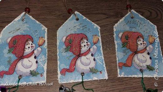 Всем  здравствуйте! Выставляю еще несколько работ на новогоднюю тему! фото 24