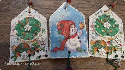 Всем  здравствуйте! Выставляю еще несколько работ на новогоднюю тему! фото 25