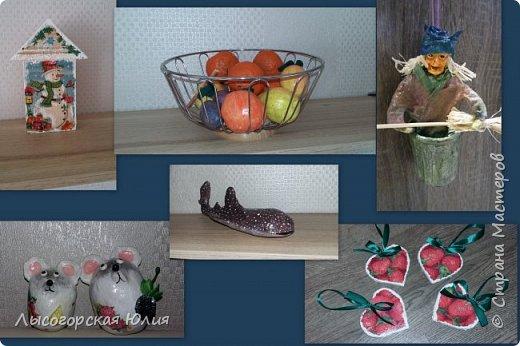 Всем  здравствуйте! Выставляю еще несколько работ на новогоднюю тему! фото 1
