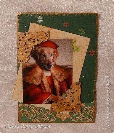 """Приветствую! Представляю Вашему вниманию свою новогоднюю серию карточек АТС """"Вернисаж""""! Приятного просмотра! фото 2"""