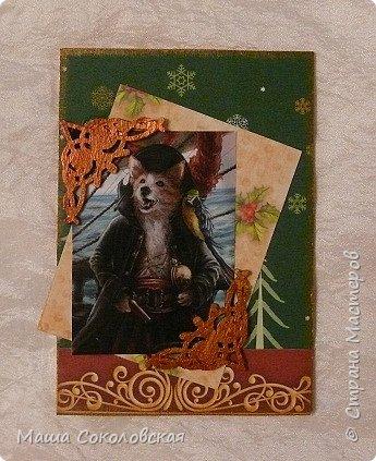 """Приветствую! Представляю Вашему вниманию свою новогоднюю серию карточек АТС """"Вернисаж""""! Приятного просмотра! фото 3"""