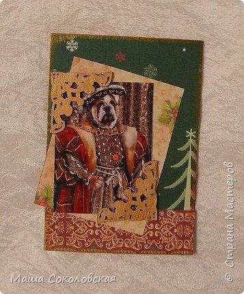 """Приветствую! Представляю Вашему вниманию свою новогоднюю серию карточек АТС """"Вернисаж""""! Приятного просмотра! фото 4"""
