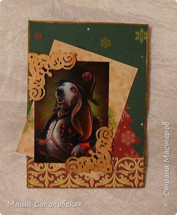 """Приветствую! Представляю Вашему вниманию свою новогоднюю серию карточек АТС """"Вернисаж""""! Приятного просмотра! фото 8"""