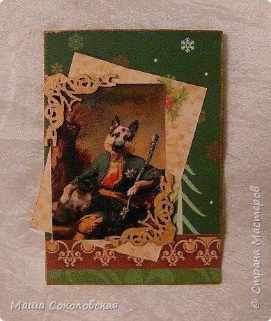 """Приветствую! Представляю Вашему вниманию свою новогоднюю серию карточек АТС """"Вернисаж""""! Приятного просмотра! фото 9"""
