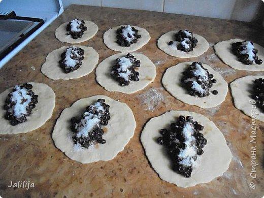 Уважаемые кулинары Страны мастеров, сегодня хочу предложить вам рецепт ещё одного вида пирожков - пирожки с калиной. фото 19