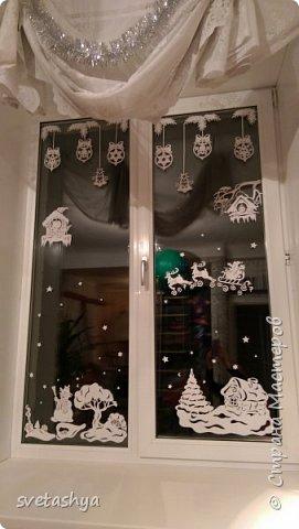 окна к новому году фото 2