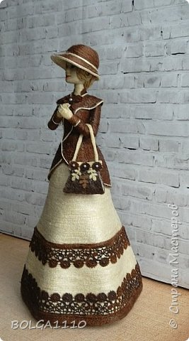 Шпагатная кукла-шкатулка фото 3
