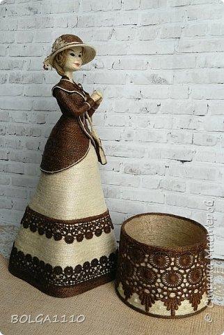 Шпагатная кукла-шкатулка фото 5