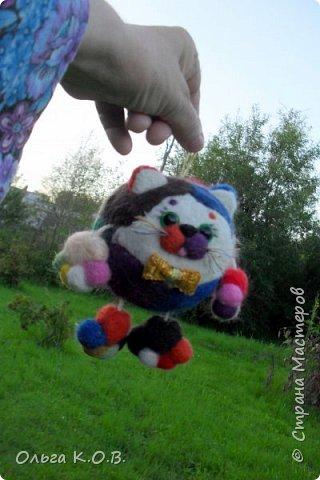 Котики валяные фото 3