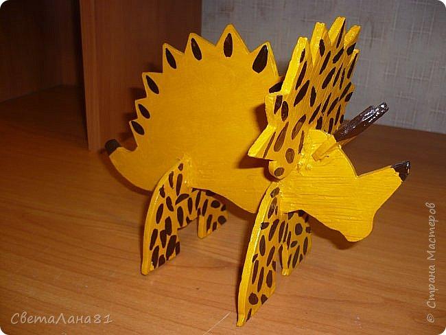 Динозавр (работа моего сына) фото 1