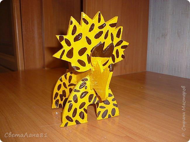Динозавр (работа моего сына) фото 2