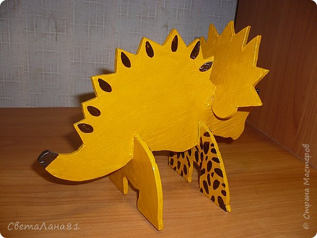 Динозавр (работа моего сына) фото 3