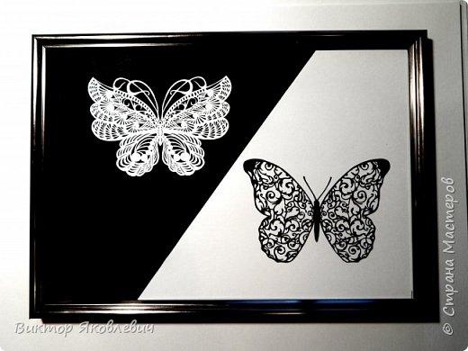 """Ещё одна простая миниатюра """"Черное и белое"""" фото 1"""