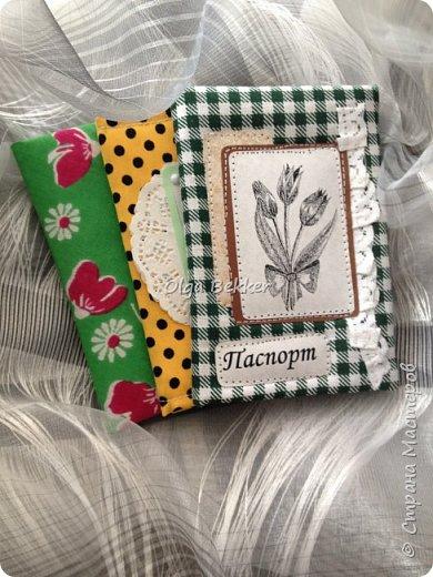 Обложка на паспорт отличный подарок! Эти были подарены на 8 марта моим девочкам! фото 1