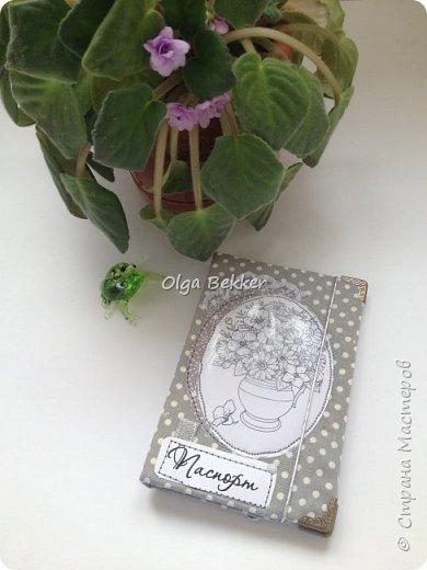 Обложка на паспорт отличный подарок! Эти были подарены на 8 марта моим девочкам! фото 7