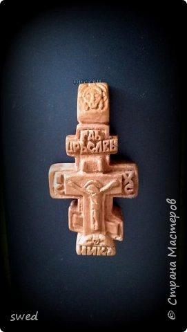 деревянный нательный крест фото 1