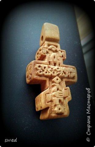 деревянный нательный крест фото 3