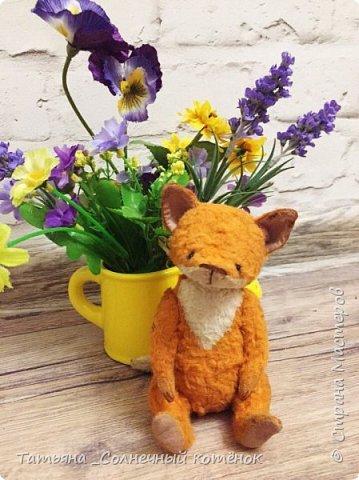 Бирюзовый малыш-мишка тедди Савушка фото 4