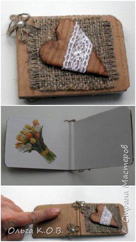 Открытки-самоделки из картона фото 8