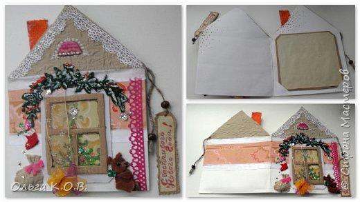 Открытки-самоделки из картона фото 3