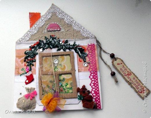 Открытки-самоделки из картона фото 4