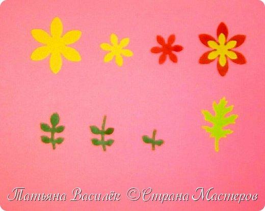Работа для выставки к Дню Матери в детский сад. Размер - формат А3. фото 26