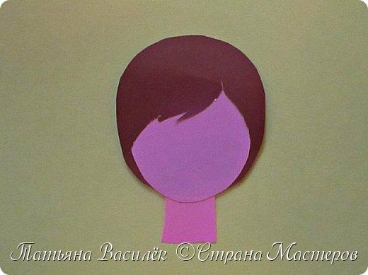 Работа для выставки к Дню Матери в детский сад. Размер - формат А3. фото 14
