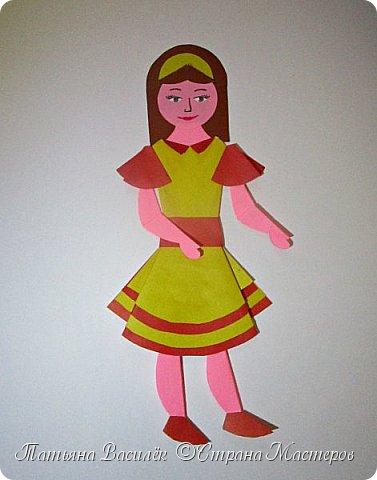 Работа для выставки к Дню Матери в детский сад. Размер - формат А3. фото 5