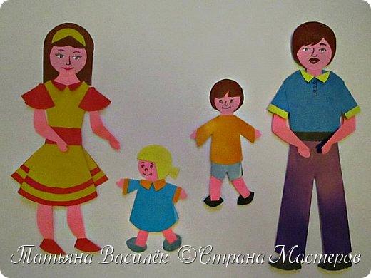 Работа для выставки к Дню Матери в детский сад. Размер - формат А3. фото 9