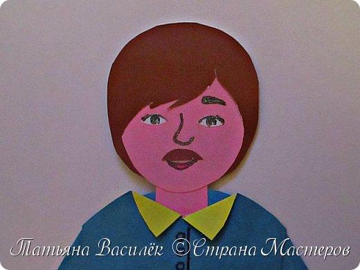 Работа для выставки к Дню Матери в детский сад. Размер - формат А3. фото 11