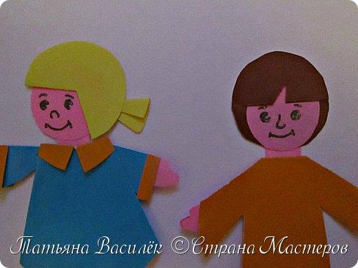 Работа для выставки к Дню Матери в детский сад. Размер - формат А3. фото 12