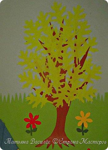 Работа для выставки к Дню Матери в детский сад. Размер - формат А3. фото 23