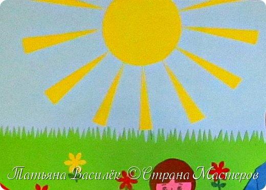Работа для выставки к Дню Матери в детский сад. Размер - формат А3. фото 22