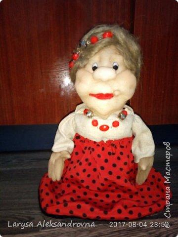 #кукла #ручнаяработа  #пинск #чулочная_техника фото 1