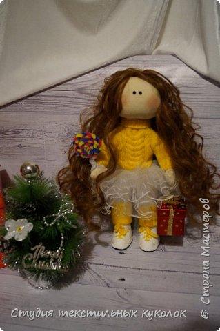 Кукла текстильная.Кукла ручной работы.Кукла интерьерная. фото 1