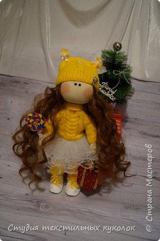 Кукла текстильная.Кукла ручной работы.Кукла интерьерная. фото 2