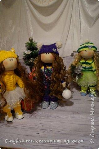 Кукла текстильная.Кукла ручной работы.Кукла интерьерная. фото 3