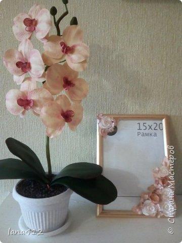 очень захотелось сделать орхидеи! фото 19