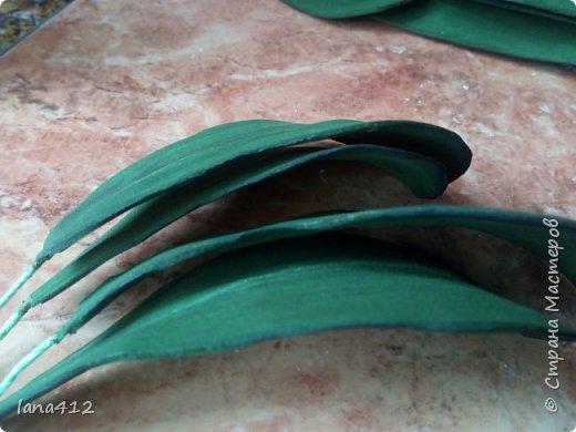 очень захотелось сделать орхидеи! фото 18