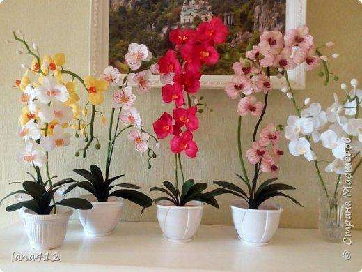 очень захотелось сделать орхидеи! фото 20