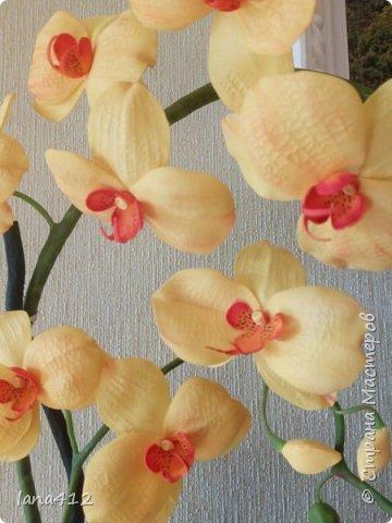 очень захотелось сделать орхидеи! фото 2