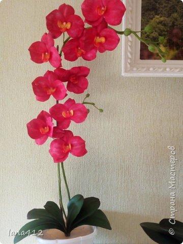 очень захотелось сделать орхидеи! фото 3