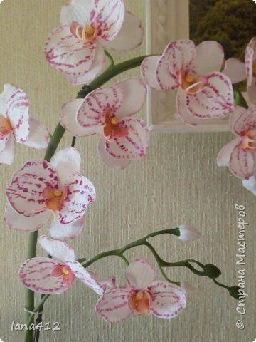 очень захотелось сделать орхидеи! фото 5