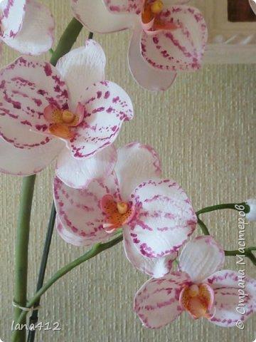 очень захотелось сделать орхидеи! фото 6