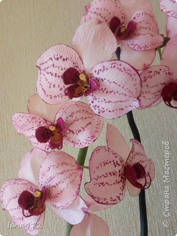 очень захотелось сделать орхидеи! фото 8