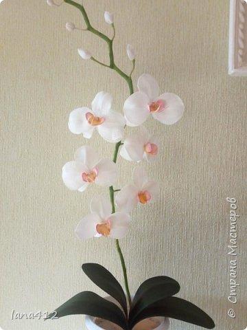 очень захотелось сделать орхидеи! фото 9