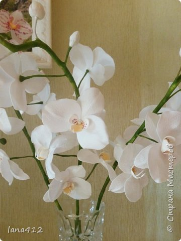 очень захотелось сделать орхидеи! фото 11