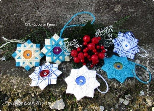 """Очередной набор ёлочных украшений """"Рождественские звёзды"""" готов! фото 2"""