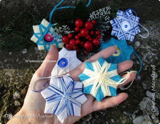 """Очередной набор ёлочных украшений """"Рождественские звёзды"""" готов! фото 3"""