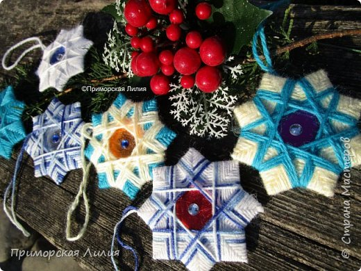 """Очередной набор ёлочных украшений """"Рождественские звёзды"""" готов! фото 1"""
